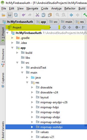 android-studio-project-view