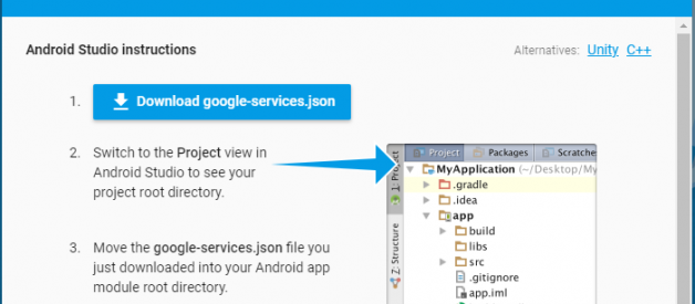 firebase-phone-auth-project-json-download