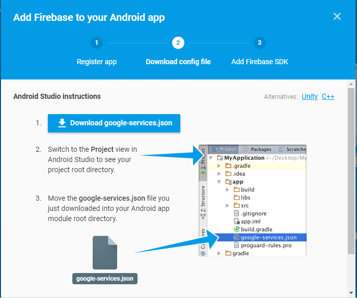 sms verification firebase android