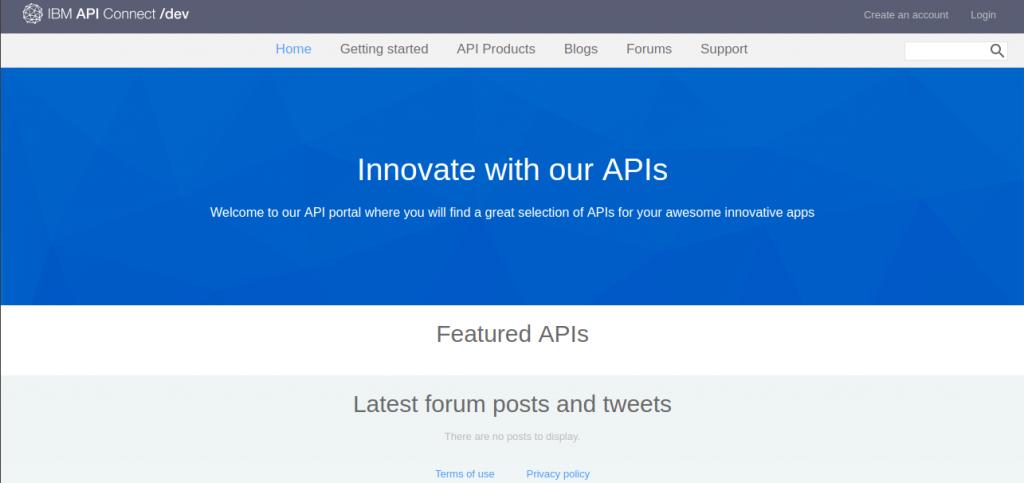 apic-ibm-developer-portal