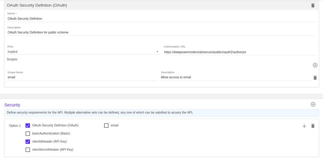 Securing API using OAuth Tutorial with Implicit Grant in IBM
