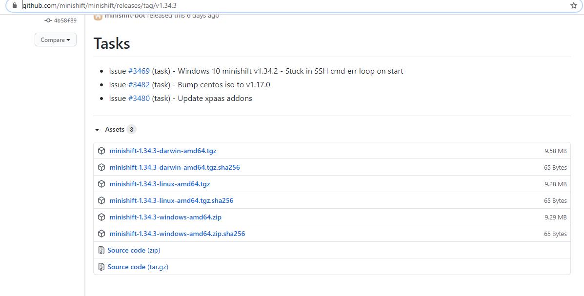 download-minishft