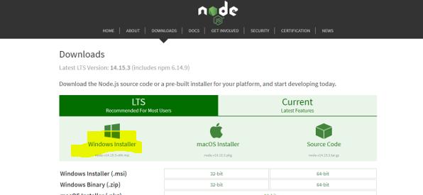 nodejs-intallable