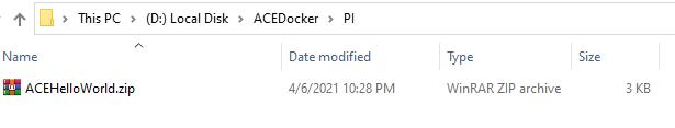 PI Folder Structure